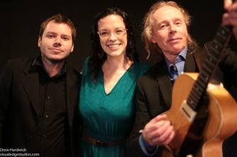 Chris Holmes, Stefanie Pepping, and Dave Burris