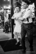 Professional swing dancers! Ashlee Duncan and Baron Smith